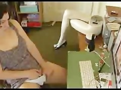 sister watching porn