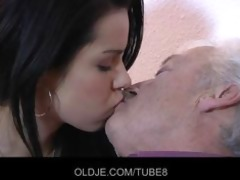 old man fucks gorgeous lady on xmas ht