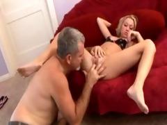 blonde fucks her dad