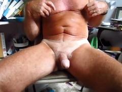 grandpa handles his 75 year old circumcised ramrod