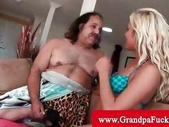 grandad jeremy gets his cock sucked