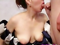 quiet shy housewife fucking younger lad