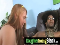 my daughter is fucked hard by my black ally 4