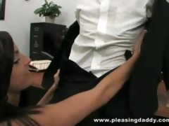 cute youthful slut gets screwed by her older boss
