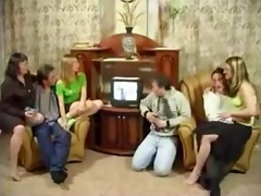 russian family having an fuckfest