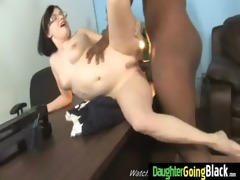 watching my young hot daughter gangbanged by