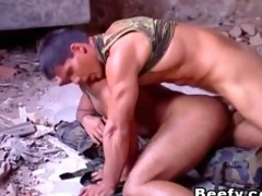 white rock hard muscle daddy fucked raw