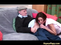 horny voyeur papy bonks nymph in some
