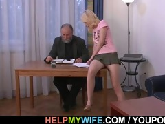 mature husband pays him to fuck his wife
