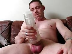 hawt straight daddy tucker masturbating