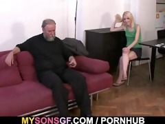 she acquires punished and rides his pecker
