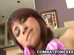 zoey bennett - diminutive oriental redhead