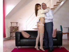 youthful honey sucking old mans dick