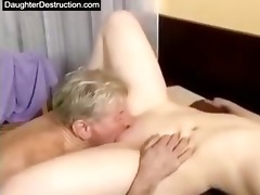cut asian daughter screwed good