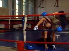 hot hugarian sweetheart bettina fucking in boxing