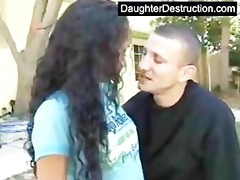 young daughter abused