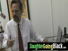 dark dude copulates my daughters young twat 21