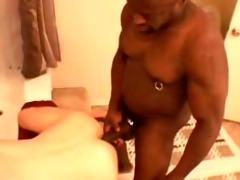 black daddy breeds white twink