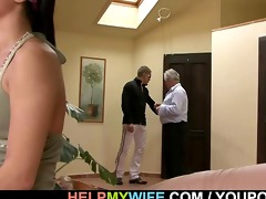 sultry wife rides strangers penis