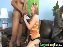 young daughter with good a-hole drilled by a