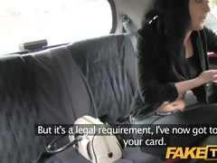faketaxi young teen chokes on my spunk