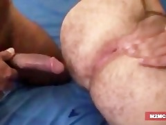 curly dad gangbanged
