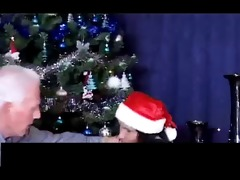 christmas - grandad and grand daughter part1