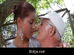 big dick oldman fucks his much younger sexy