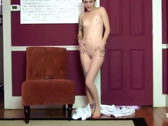 your step-daughter teases - joi