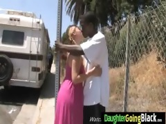 watch my daughter going on huge black dick 8