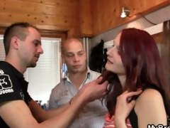 slutty whore cheating with her bfs bro