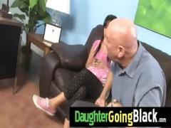 hot daughter cock suck and interracial fuck 12