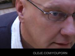 baldy older eats natalys yummy youthful love