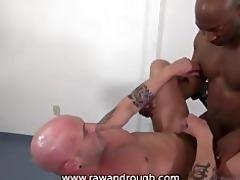 taking large black raw cock