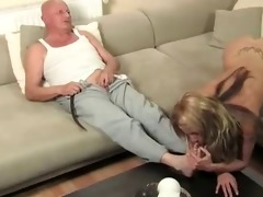 old man bonks young blonde