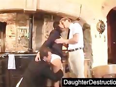 brutal daughter destruction