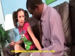 dad&#039 s therapy by watching interracial