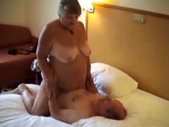 big beautiful woman rides oldman 5