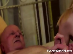 granddad ben enjoys tasting recent vaginas