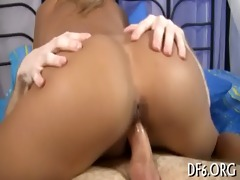 the 1st cock in her fur pie