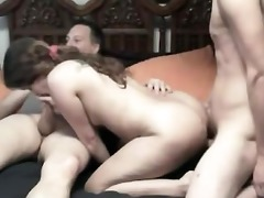 sister brother and father orgy
