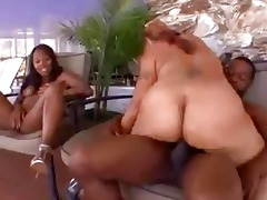 mother and daughter share a jock