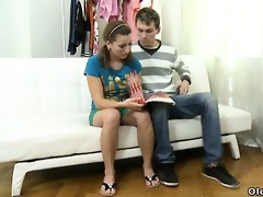 sveta and her boyfriend bring in an older lover