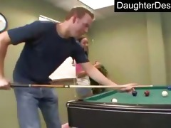 sweet teen daughter bonks like a pro