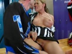 nice daughter oral job