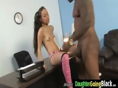 young daughter receives pounded by big dark cock 3