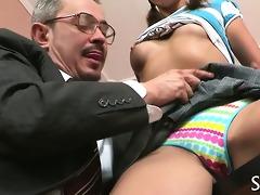teacher is fucking young hottie