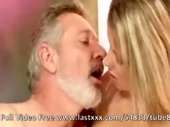 bianca arden with an older dude
