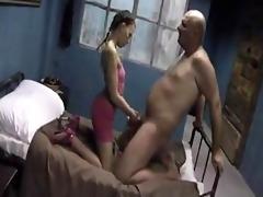 dad fucks stepdaughter