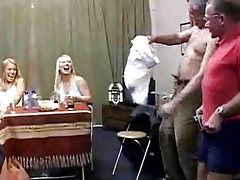 horny old and young groupsex party